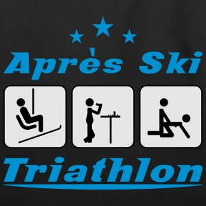 Apres Ski Triathlon c3 T-Shirts - Eco-Friendly Cotton Tote