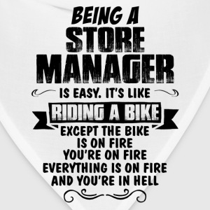 Being A Store Manager... Women's T-Shirts - Bandana