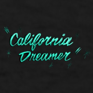 CALI DREAMER BLUE AQUA Mugs & Drinkware - Men's T-Shirt