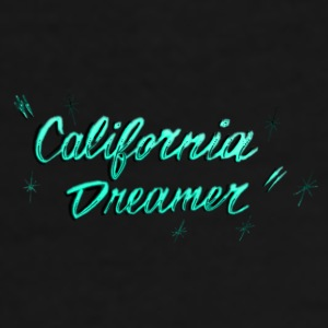 CALI DREAMER BLUE AQUA Mugs & Drinkware - Men's Premium T-Shirt