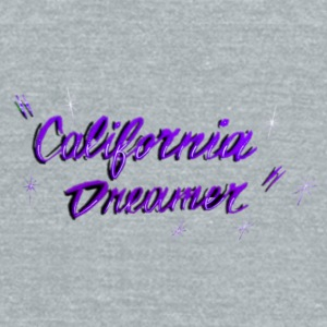 CALI DREAMER PURPLE Mugs & Drinkware - Unisex Tri-Blend T-Shirt by American Apparel
