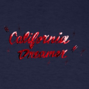 CALI DREAMER RED BROKEN Long Sleeve Shirts - Men's T-Shirt