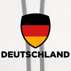 National Flag of Germany Mugs & Drinkware - Contrast Hoodie