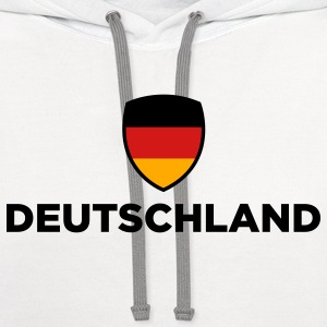 National Flag of Germany T-Shirts - Contrast Hoodie