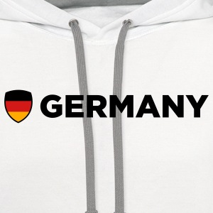 National Flag of Germany Kids' Shirts - Contrast Hoodie
