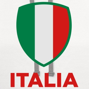 National Flag of Italy Tanks - Contrast Hoodie