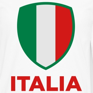 National Flag of Italy T-Shirts - Men's Premium Long Sleeve T-Shirt