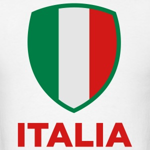 National Flag of Italy Hoodies - Men's T-Shirt