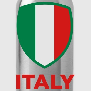 National Flag of Italy Bottoms - Water Bottle