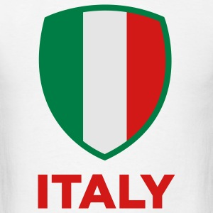 National Flag of Italy Long Sleeve Shirts - Men's T-Shirt