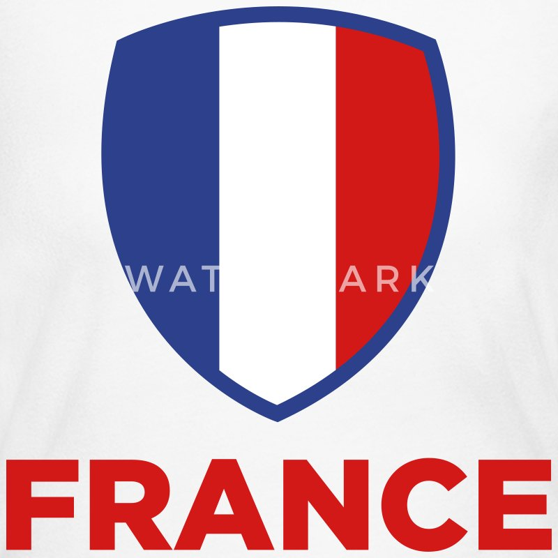 National Flag of France Long Sleeve Shirts - Women's Long Sleeve Jersey T-Shirt