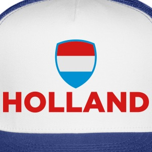 National Flag of Netherlands Polo Shirts - Trucker Cap