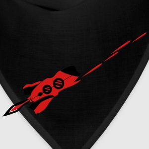 spaceship laser shooting war Star Battle T-Shirts - Bandana