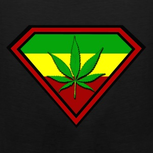 Super Ganja man - Men's Premium Tank