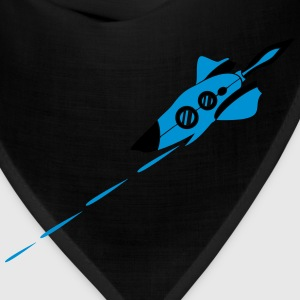 Battle spaceship laser shooting war Star Battle T-Shirts - Bandana