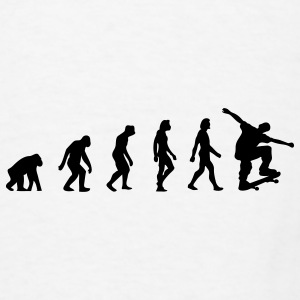 The Evolution of Skateboarding Other - Men's T-Shirt