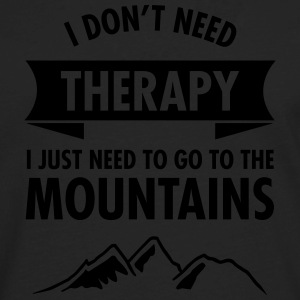 Therapy - Mountains T-Shirts - Men's Premium Long Sleeve T-Shirt