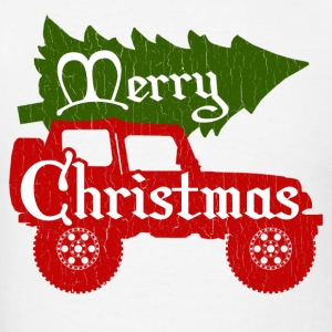Merry Christmas 4x4 (vintage look) - Men's T-Shirt