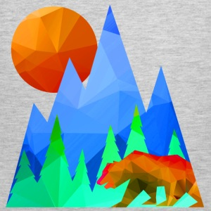 Bear Mountain Range - Men's Premium Tank