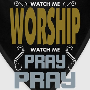 Worship Pray Pray Kids' Shirts - Bandana