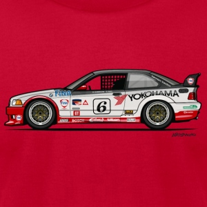 Bmw 3 Series E36 M3 Gts-2 Tanks - Men's T-Shirt by American Apparel