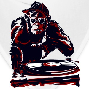 cartoon monkey dj - Bandana