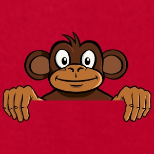 cartoon monkey for ads - Men's T-Shirt by American Apparel