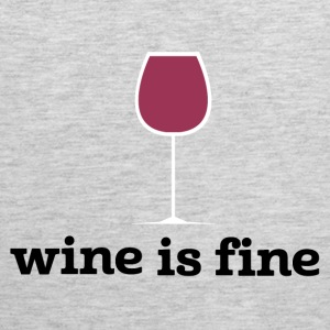 Wine is fine - Men's Premium Tank
