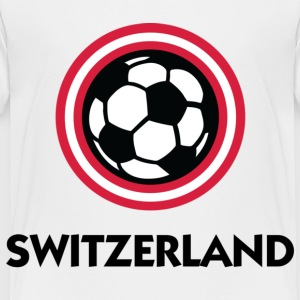 Football crest of Switzerland Kids' Shirts - Toddler Premium T-Shirt