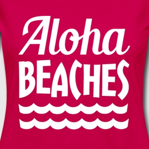 Aloha Beaches funny saying - Women's Premium Long Sleeve T-Shirt