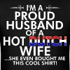 Im Proud Husband Of Hot Dutch Wife Bought Shirt - Men's T-Shirt