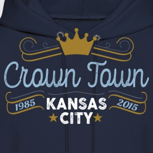 Crown Town Kansas City T-Shirts - Men's Hoodie