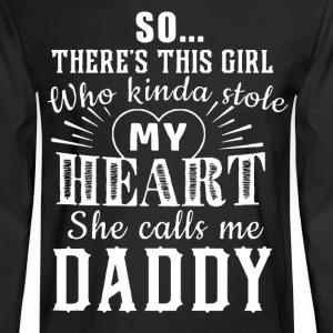 Daddy's daughter T-Shirts - Men's Long Sleeve T-Shirt