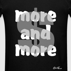 $-more and more-white Zip Hoodies & Jackets - Men's T-Shirt