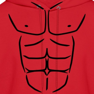 Sixpack six pack Abs T-Shirts - Men's Hoodie