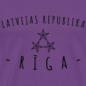 Rīga Tanks - Men's Premium T-Shirt