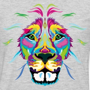 Colored Lion - Men's Premium Long Sleeve T-Shirt