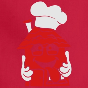 logo Dining Chef Chef's Hat dinner fast food snack T-Shirts - Adjustable Apron