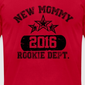New Mommy 2016 Rookie Dept Long Sleeve Shirts - Men's T-Shirt by American Apparel