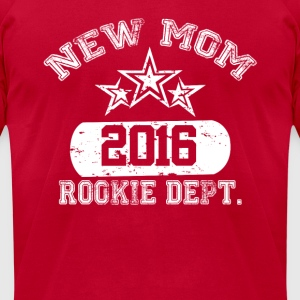 New Mom 2016 Rookie Dept Long Sleeve Shirts - Men's T-Shirt by American Apparel