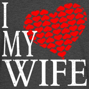 I Love My Wife T-Shirts - Men's Long Sleeve T-Shirt