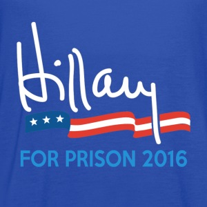 Hillary For Prison 2016 T-Shirts - Women's Flowy Tank Top by Bella