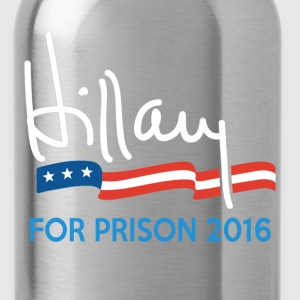 Hillary For Prison 2016 T-Shirts - Water Bottle