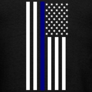 Thin Blue Line Tote - Men's T-Shirt