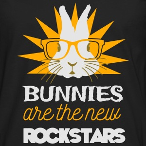 Bunnies are rockstars Women's T-Shirts - Men's Premium Long Sleeve T-Shirt