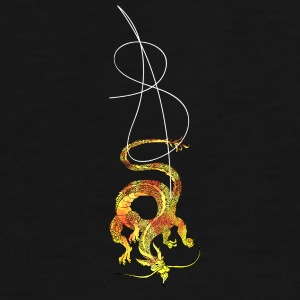 Eastern Dragon - Inferno Mugs & Drinkware - Men's Premium T-Shirt