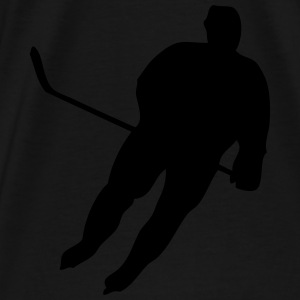 Hockey Player Hoodies - Men's Premium T-Shirt