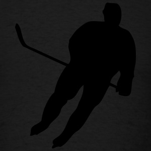 Hockey Player Hoodies - Men's T-Shirt