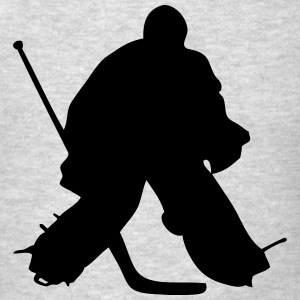 Hockey Goalkeeper  Hoodies - Men's T-Shirt
