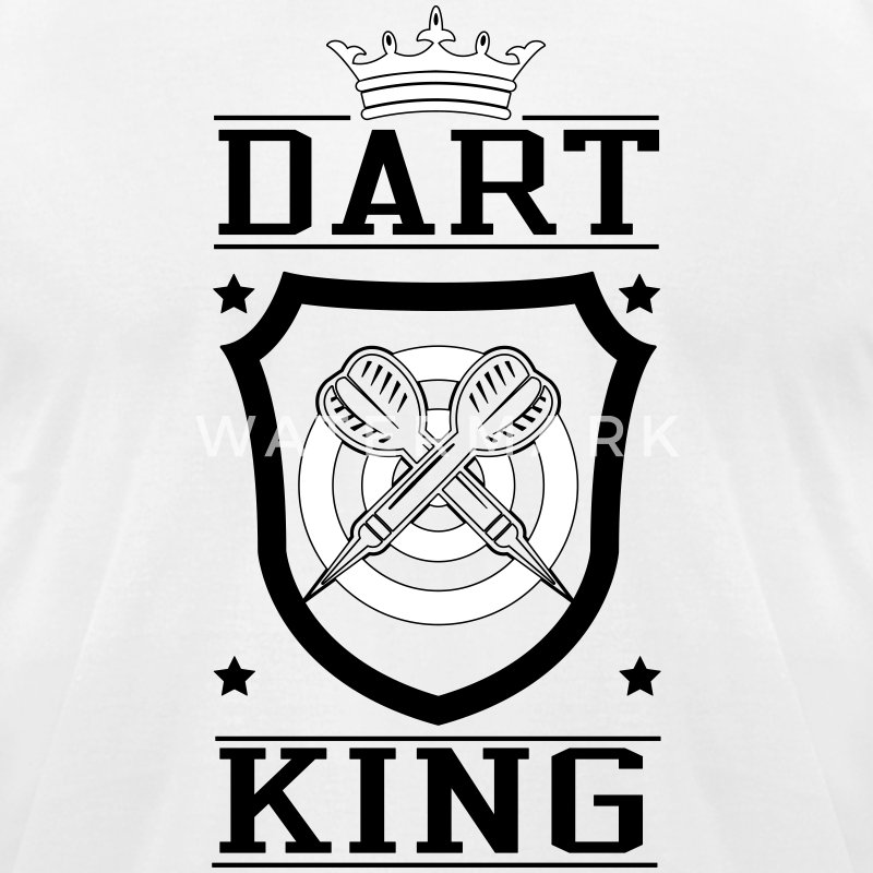 Dart King T-Shirts - Men's T-Shirt by American Apparel